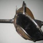 Német diák párbaj (mansur) fegyverek
